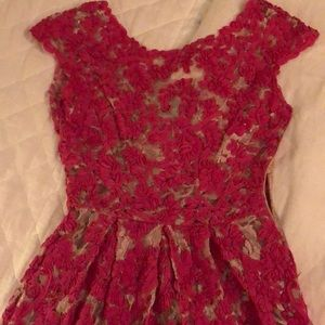 Anthropology High/Low Lace dress